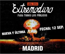 Extremoduro en concierto en Madrid