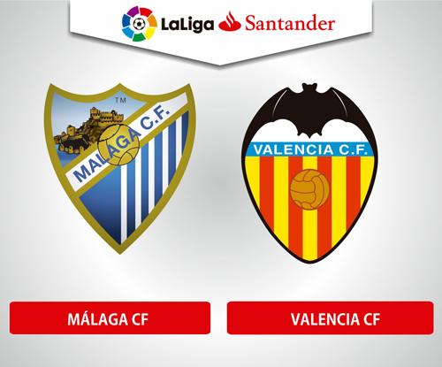 Resultado de imagen de Malaga CF - Valencia CF