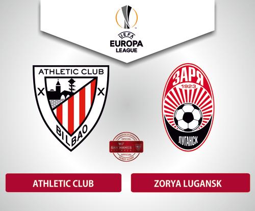Resultado de imagen de Athletic Club - Zorya Lugansk