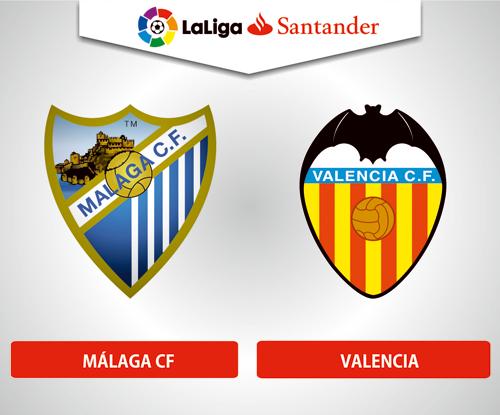 Resultado de imagen de Málaga CF - Valencia CF