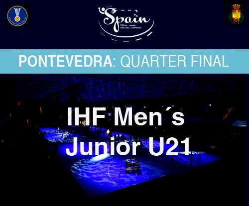 HandBall Tickets Quarter Final Pontevedra / Balonmano Entradas ...